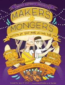 Makers & Mongers dinner logo