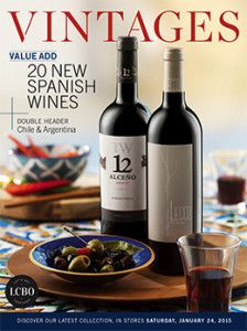 LCBO Vintages magazine Jan 24