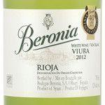 Beronia Viura white wine from Spain