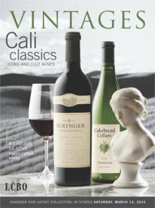 California cover Vintages Magazine
