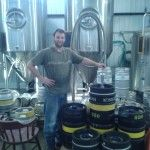 Barley Days Brett at the tanks