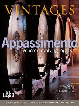 LCBO Vintages magazine April 12