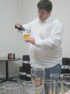 Paul Meek - pouring