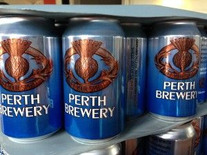 Perth Brewering cans