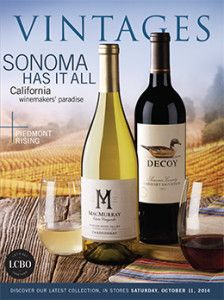 LCBO Vintages magazine Oct 11
