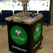 FreshTAP at hockey game