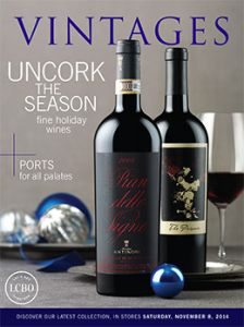 LCBO Vintages Magazine Nov 8
