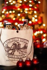 Covered Bridge growler bag