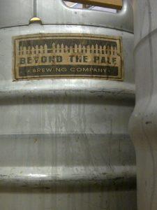 Beyond the Pale keg