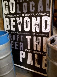 Beyond the Pale sign