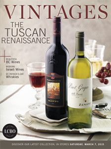 LCBO Vintages magazine March 7