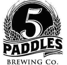 5 Paddles logo