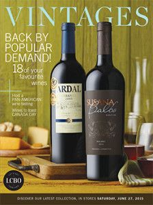 LCBO Vintages Magazine June 27