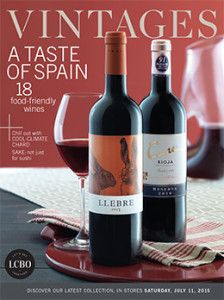 LCBO Vintages Magazine July 11