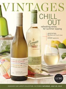 LCBO Vintages Magazine July 25