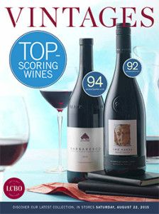 LCBO Vintages Magazine Aug 22