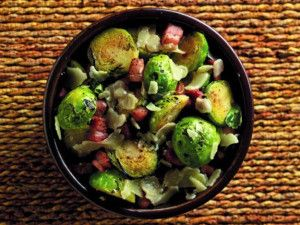 Garlic Brussel Sprouts