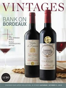 LCBO Vintages Magazine Oct 3