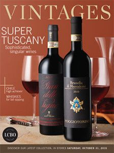 LCBO Vintages Magazine Oct 31