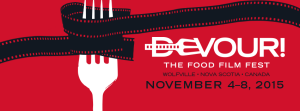 devour film fest logo large color