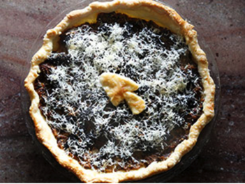 Onion and Wild Mushroom Tart