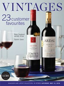 LCBO Vintages Magazine May 14