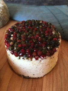 Salt Spring Island Cheese Pepper Chevre