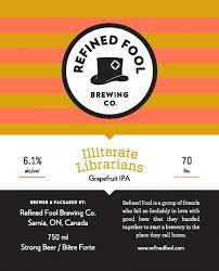 Illiterate Librarians- Grapefruit IPA