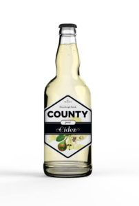 County Cider Pear bottle shot