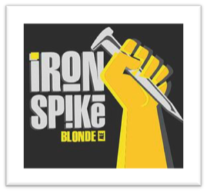iron spike blonde