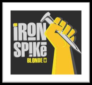 iron spike blonde