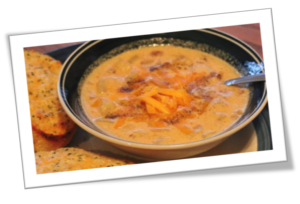 with-blueline-blonde-ale-sausage-and-cheese-bisque